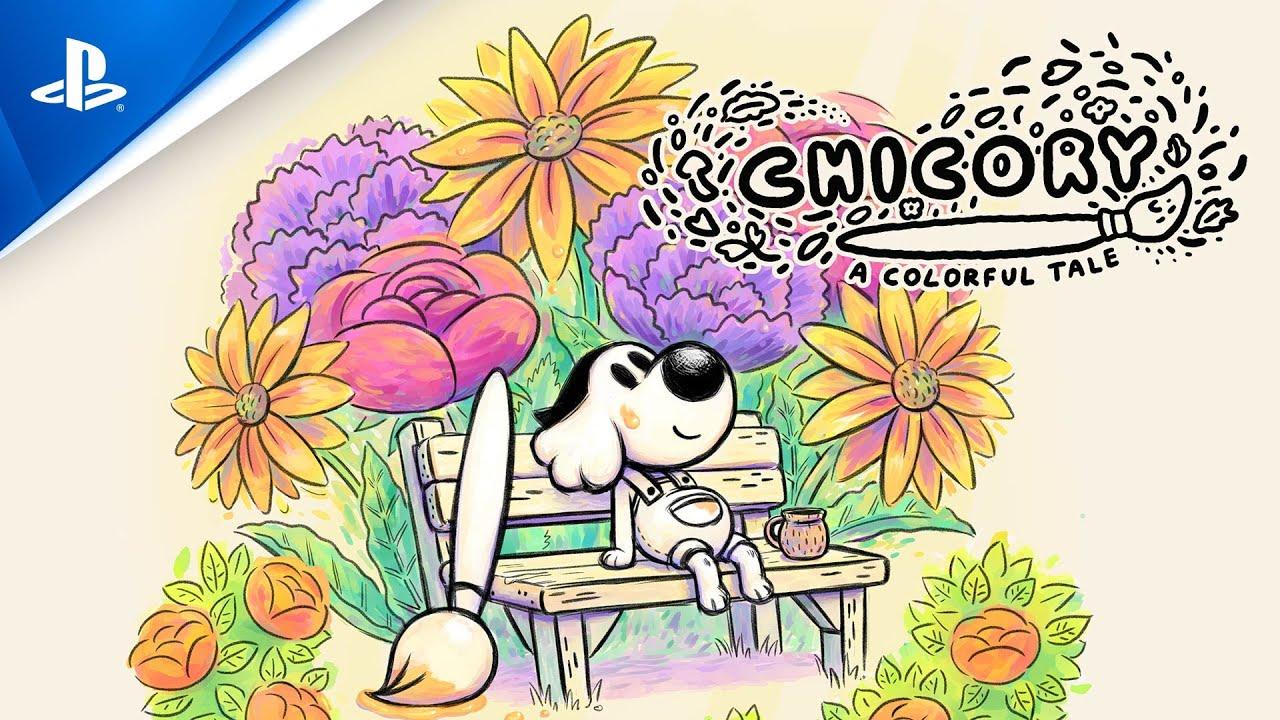 Весь мир – ваше полотно в Chicory: A Colorful Tale, которая выйдет на PS5 и PS4 весной этого года