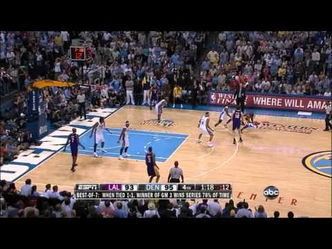 Kobe Bryant impossible three pointer compilation HD