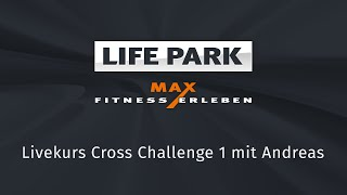Cross Challenge mit Andreas (Livemitschnitt vom 08. April 2020)