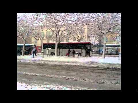Siena sotto la neve