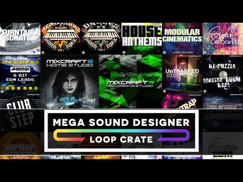 Mega Sound Designer Loop Crate