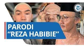 Lucunya Parodi Warganet saat Reza Rahadian Bertransformasi Menjadi BJ Habibie & Trending di Twitter