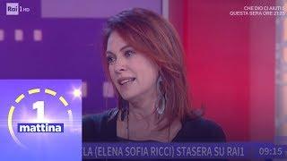 Intervista A Elena Sofia Ricci - Unomattina 10/01/2019