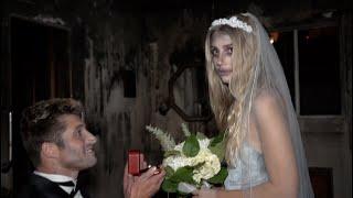 gettin creepy in a haunted house lol
