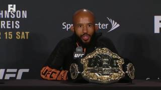 UFC Fight Night Kansas City: Demetrious Johnson - I Might Go For 13 or 14 Title Defenses