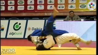Judo Grand Slam Baku 2013: Amartuvshin DASHDAVAA (MGL) - Askhat TELMANOV (KAZ) Final [-60kg]