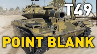 Gambar cover World of Tanks || T49 - Point Blank