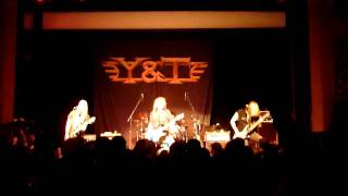 "Y&T - ""Gonna Go Blind"" - Live 11-18-2011 - Mystic Theatre - Petaluma, CA"