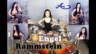 Rammstein - Engel drum, guitar, bass and vocal cover by Ami Kim (#54)