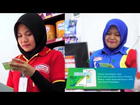 Pembayaran Iuran BPJS Ketenagakerjaan melalui Indomaret, Alfamart, dan Teller Bank