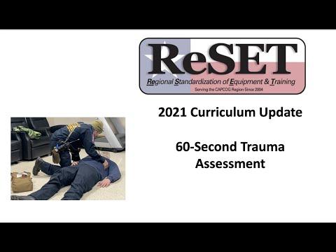 60 Second Trauma Assessment
