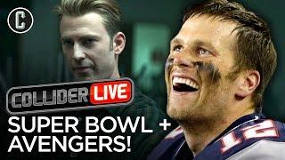 The Super Bowl Stunk and Avengers Had a New Trailer - Collider Live #65