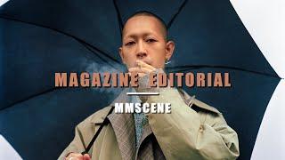 BTS Magazine Fashion Editorial / Film Photography / Yashica Mat 124G / Pentax K1000