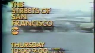 The Streets Of San Francisco 1977 ABC Promo