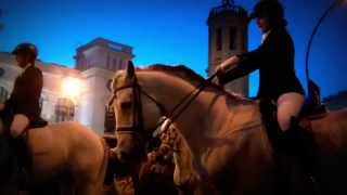 preview picture of video 'La Passada de Sant Antoni Abat i els tres tombs de Sabadell 2015'