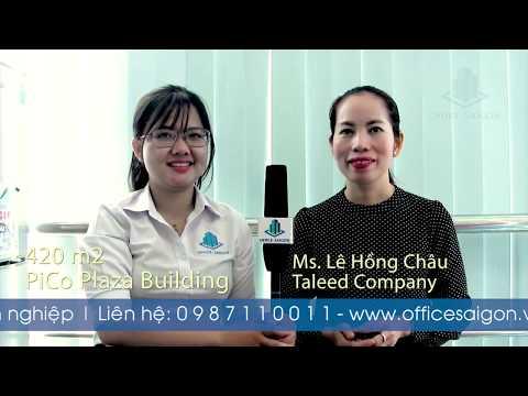 Chia sẻ của chị Châu thuê 420m2 tại Pico Plaza qua công ty Office Saigon