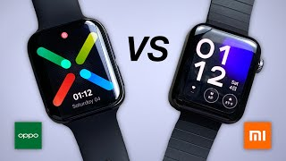 Oppo Watch vs Xiaomi Watch