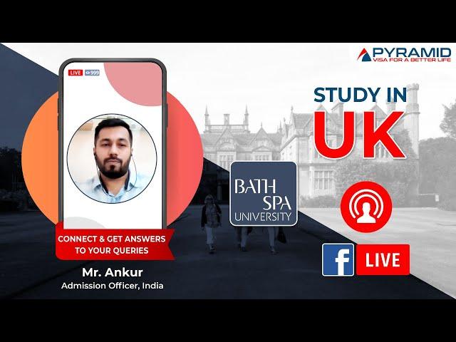 Bath Spa University Facebook-Live!