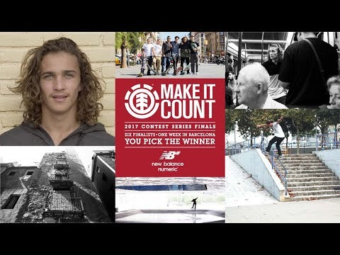 Element Make It Count 2017: Brandon Valjalo