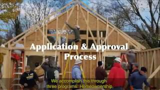 How to Apply for Habitat for Humanity programs