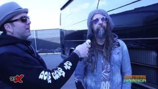 93X Pablo Interviews Rob Zombie at Northern Invasion
