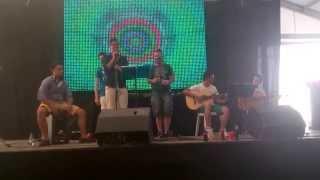 preview picture of video 'Chuski Master cantando por Estopa - Galeon Feria Villanueva de Cordoba'