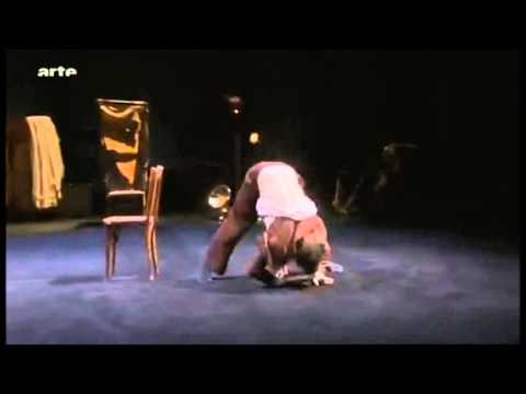James Thiérrée - pantomime with a chair