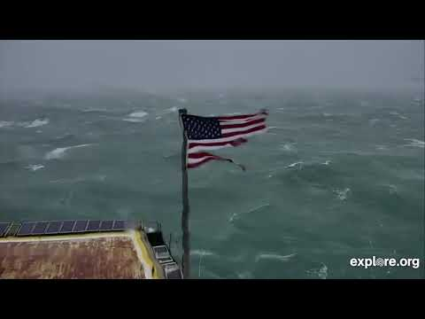 Kevin the Flag vs. Hurricane Florence, day 1