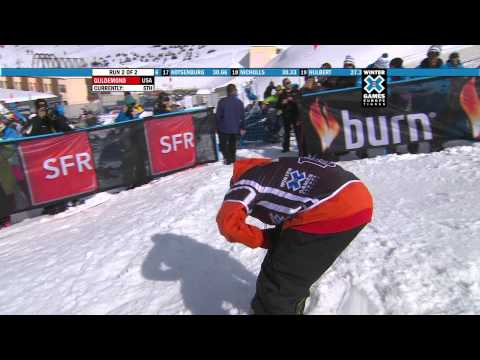 Chas Guldemond Gets Highest Score in Winter X Games Europe History - Snowboard Men's Slopestyle Gold