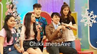 #MayWard does the eye to eye challenge on ASAP Chill Out #ASAPFunPamilya