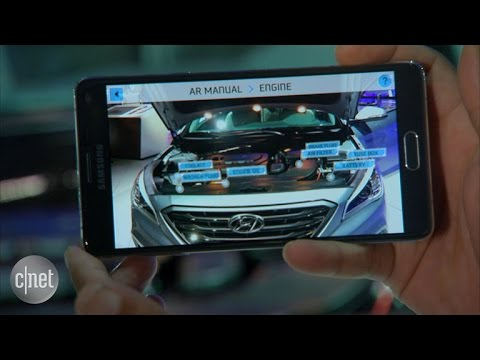 Car Tech – Hyundai's Augmented Reality app overhauls the owners manual