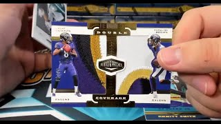 2019 Panini Plates and Patches Football 12 Box Case Break #1