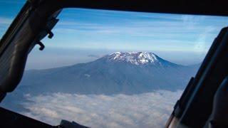 Kilimanjaro in the 737 Cockpit!