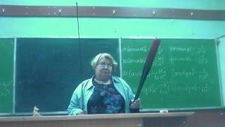 Учительница жжет! Огромная радость преподавателя по поводу захода ученика в класс!