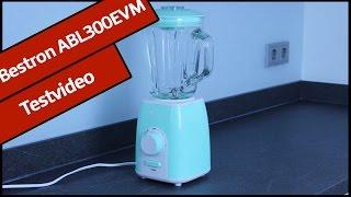 Bestron ABL300EVM Standmixer | En-Vogue-Serie | Testvideo