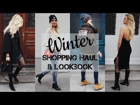 XXXL Shopping Haul I Lookbook I Winteroutfits