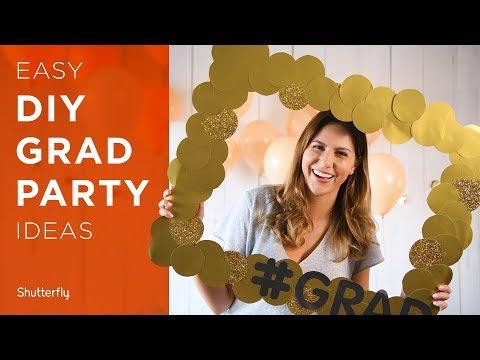 Graduation Party Ideas: DIYs, Decor and More For 2019