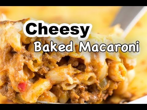 Cheesy Baked Macaroni Recipe | How to Cook Baked Mac and Cheese | Panlasang Pinoy