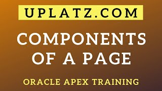 Components of a Page