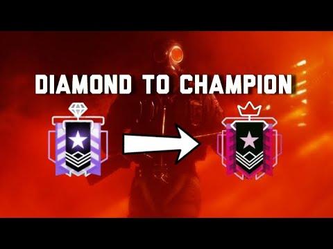 WHAT A CONSOLE CHAMPION REALLY LOOKS LIKE - Rainbow Six Siege Console Diamond