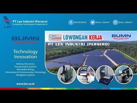 Lowongan Kerja Terbaru BUMN PT LEN Industri (Persero)