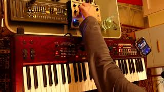 KROSS 2 LIVE All In One Go: Vocoder, Drums, Arpeggio, Sequencer, Live Playing
