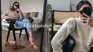 HOW TO DRESS EFFORTLESSLY CHIC | LOOKBOOK