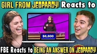 College Kid from Jeopardy Reacts To FBE Reacts To Being A Jeopardy Answer - Video Youtube