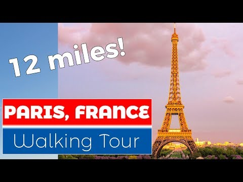 Paris, France Walking Tour