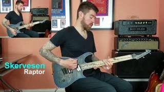 Skervesen Guitars Review - Raptor Multi-Scale