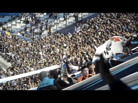"""""""Yo quisiera ver a Boca unos años en la B.."""" Barra: La Guardia Imperial • Club: Racing Club • País: Argentina"""