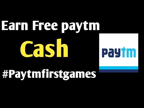 How to earn money online by playing simple games | Paytm first gameplay | what is paytm first game