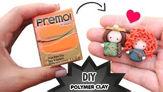 DIY - MERIDA AND QUEEN ELINOR CHIBI TUTORIAL - Mother