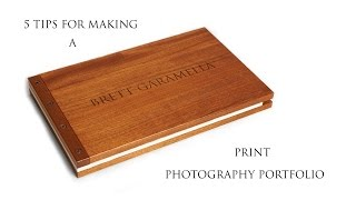 5 Tips For Making A Good Print Photography Portfolio